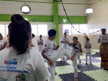 1º Intensivo de Capoeira movimenta dezenas de alunos