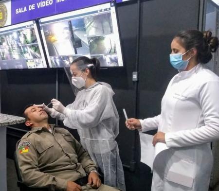 Administração realiza testes em batalhão da Brigada Militar