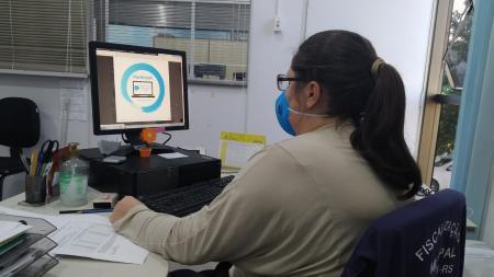 Servidores taquarienses participam de Seminário Virtual de Educação Fiscal