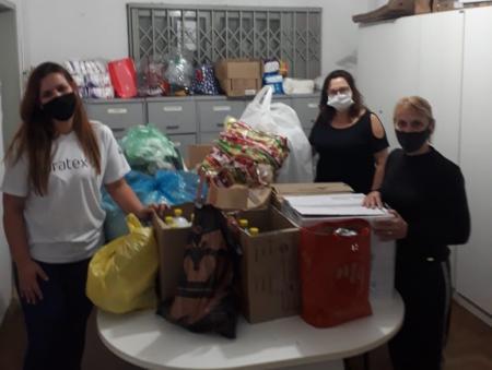 Assistência Social recebe doações da empresa Duratex