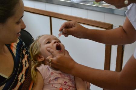Unidades de saúde mobilizadas na prevenção à poliomielite