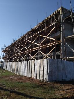 Construção de escola da rede municipal de Taquari avança