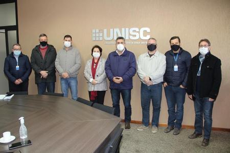 Prefeitura e Unisc firmam compromisso de interesse mútuo