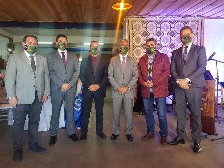 Prefeito de Taquari participa de encontro com embaixador de Portugal
