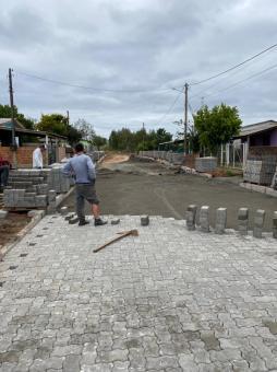 Prefeitura investe R$ 1,7 milhão em pavimentações no ano de 2021