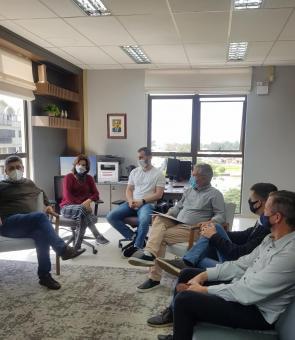 Prefeito de Taquari recebe Secretário Luiz Carlos Busato para apresentar projeto do anel viário