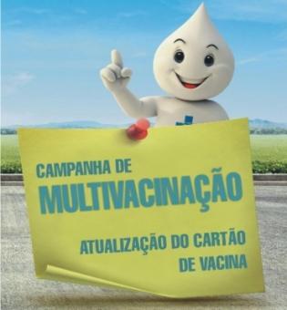 Campanha de multivacinação iniciou neste dia 1° de outubro