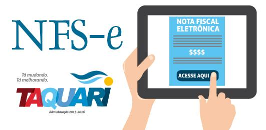 Logotipo do serviço: Nota Fiscal Eletrônica